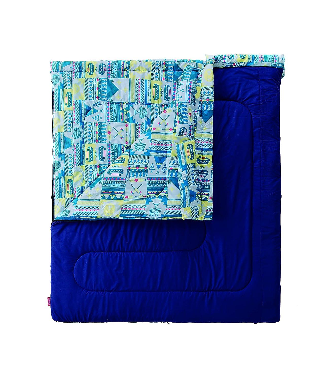 コールマン(Coleman) 寝袋 ファミリー2in1 C5 使用可能温度5度 封筒型 B07L33K4QJ ネイビー(Amazon.co.jp限定)