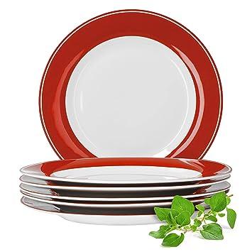 27cm weiß Porzellan TOP für Gastro Angebot 50 x Speiseteller Grillteller  ca
