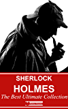 Sherlock Holmes : The Best Ultimate Collection (Illustrated) + Free Audiobooks (English Edition)