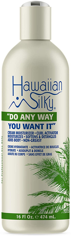 Hawaiian Silky Hawaiian silky cream activator do any way you want it 16 fluid ounce, White, 16 Fl Ounce