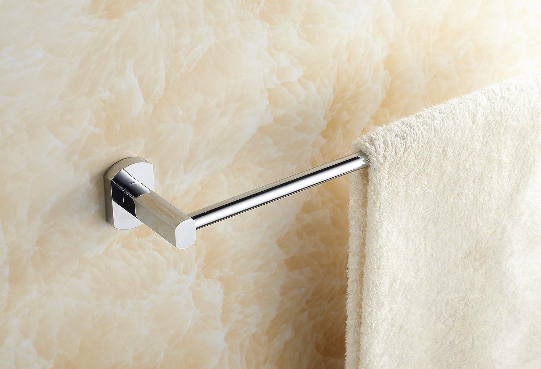 "Eccoedge 96 Series Luxury 24"" Towel Bar, modern design, chrome finish chic"