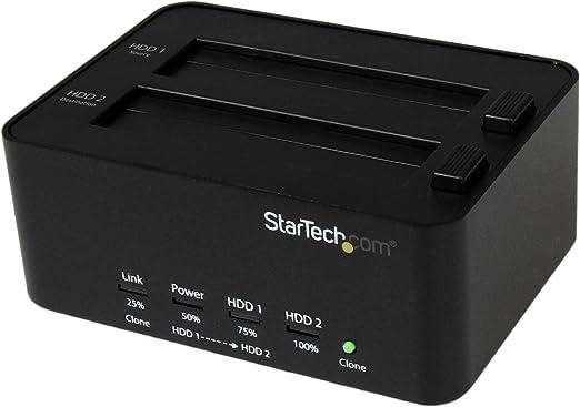StarTech SATDOCK2REU3 - Estación de Acoplamiento para Disco Duro ...
