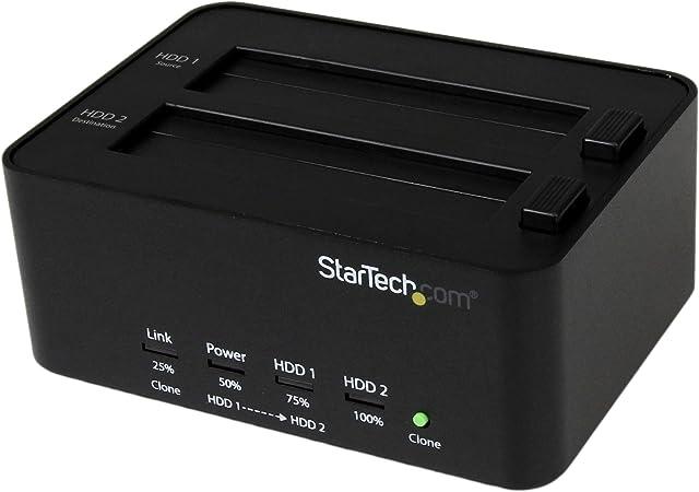 Startech Com Hdd Docking Station Usb 3 0 Auf 2 5 Computer Zubehör