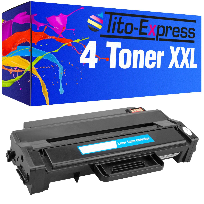 PlatinumSerie® 4 Toner-Patronen XXL für Dell B1260 B1260DN B1260DNF Schwarz