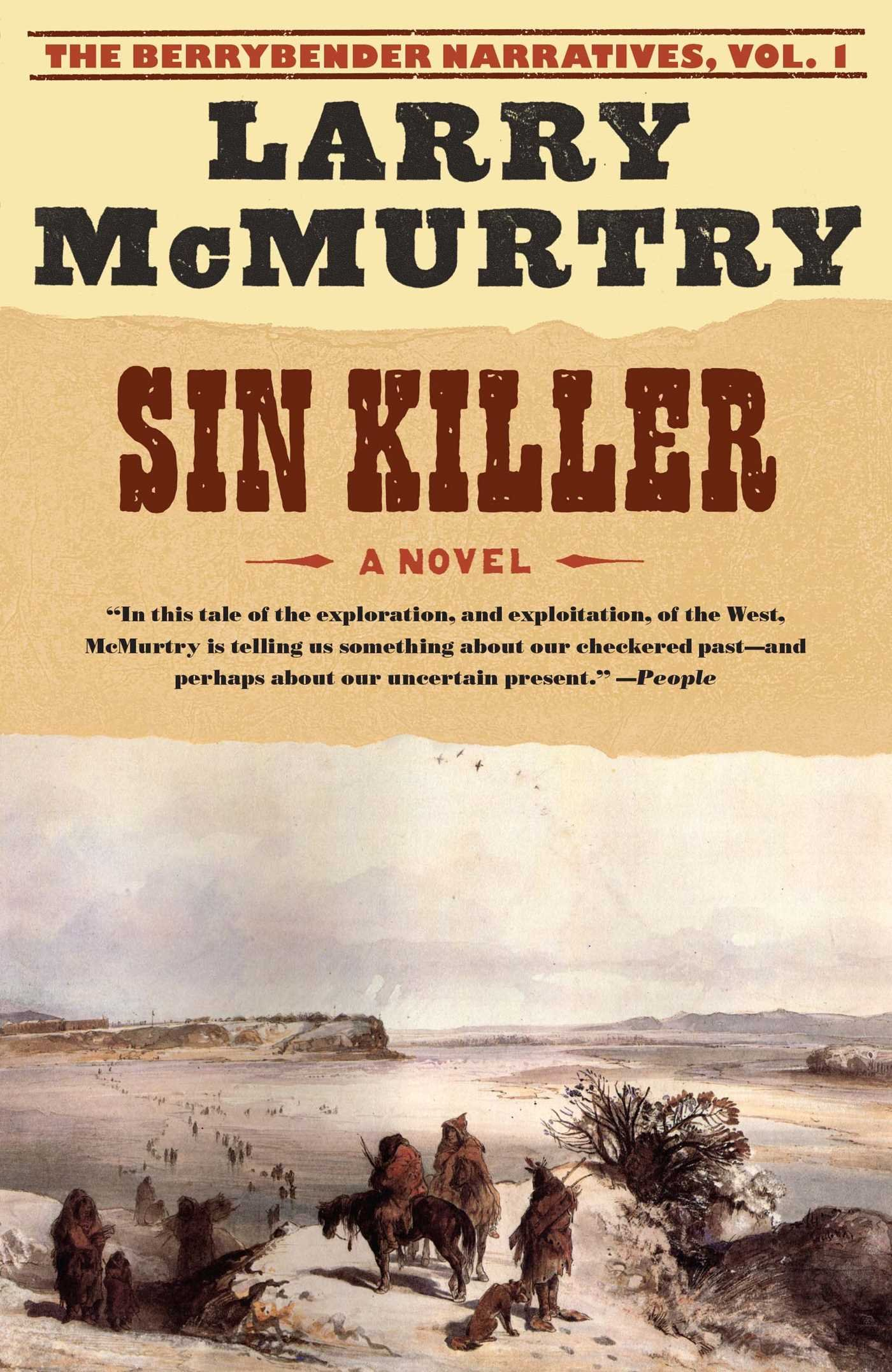 Sin Killer The Berrybender Narratives 1 By Larry Mcmurtry