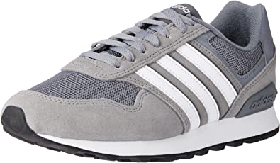adidas 10k, Chaussures de Fitness Homme, (GrisFtwblaGricin
