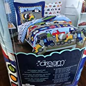 Amazon.com: Dream Factory Dinosaur Prints Boys Comforter ...