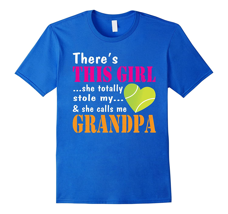 This Girl Totally Stole My Heart Call Tennis Grandpa Shirt