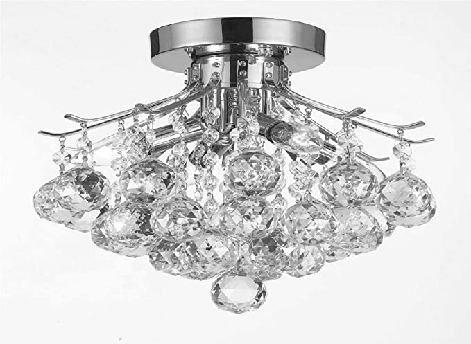 French Empire Crystal Chandelier Chandeliers Lighting H20 32cm X W30 48cm