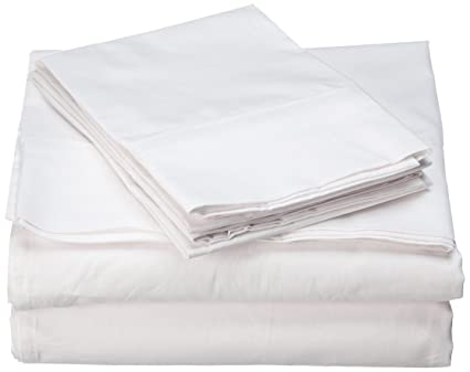 Real Organic Cotton Sheet Set   600 Thread Count   100% Cotton 4pc Bed Sheet