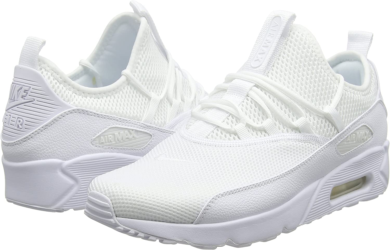 Nike Herren AIR MAX 90 EZ Laufschuhe, Weiß (WhiteWhite