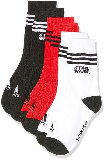 adidas Star Wars 3 Pair Pack Calcetines, Bebé-Niños: Amazon.es ...