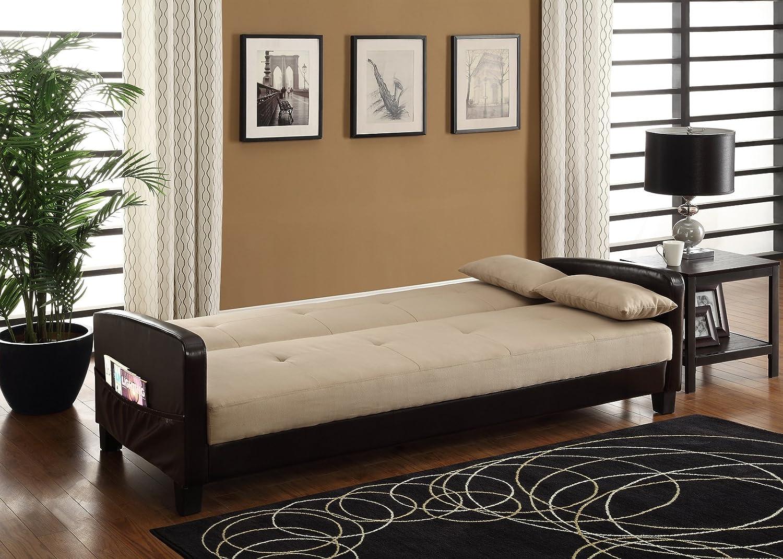 DHP Vienna Sofa Sleeper With 2 Pillows: Amazon.ca: Home & Kitchen