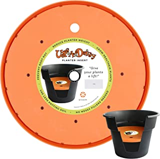 "product image for Bloem T6326 818573010063 Ups-A-Daisy Round Planter Lift Insert-16, 16"", Orange"