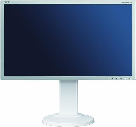 NEC MultiSync E201W - Monitor LCD con retroiluminación LED, 20 Pulgadas(16: 9, 250 CD/m, 1000: 1, 1600 x 900, 5 ms) - Blanco: Amazon.es: Informática