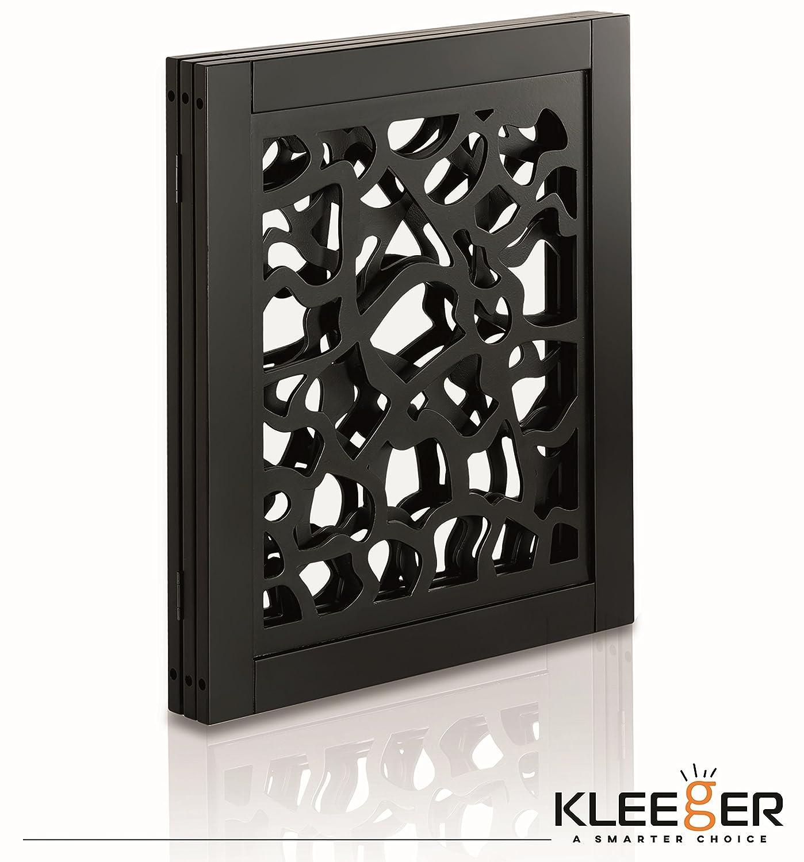 Kleeger Wooden Pet Gate Foldable Freestanding Indoor Home Office Keep Pets Safe