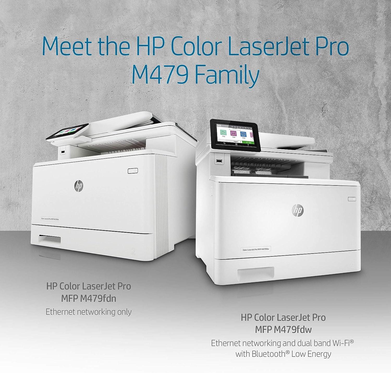 Amazon.com: HP Color Laserjet Pro Multifunction M479fdw ...