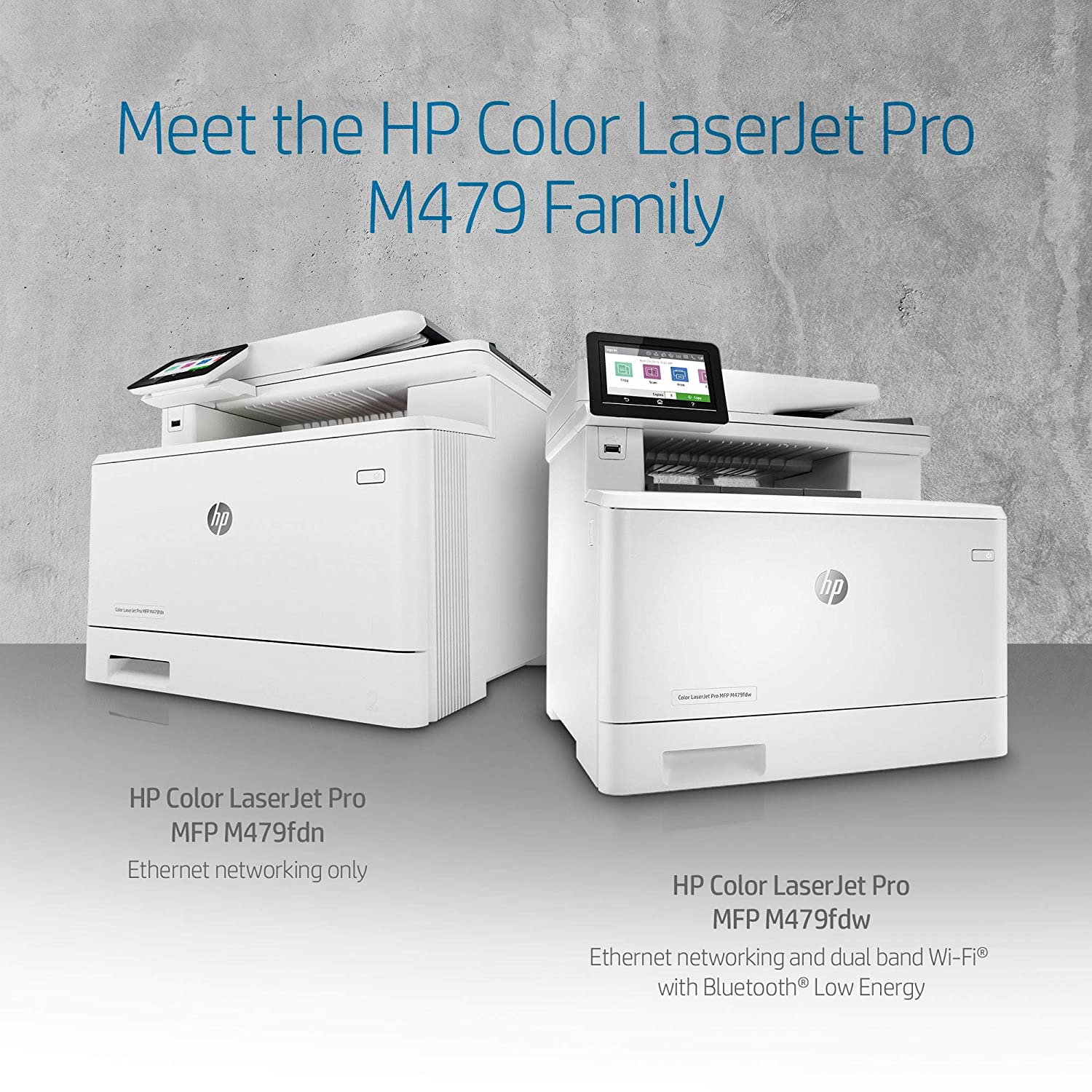 HP Color Laserjet Pro Multifunction M479fdw Wireless Laser Printer (W1A80A) with Standard Yield Black Toner Cartridge