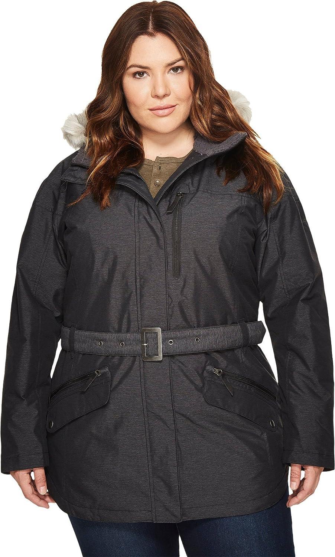 Columbia Women's Plus Size Carson Pass ii Jacket, Black, 2X 1515503