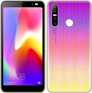 Móviles y Smartphones Libres, 5.0 Pulgadas Android GO Teléfono (5.0MP Cámara,Teléfonos binarios con Tarjeta Doble ,GPS,WiFi,Bluetooth) (P17-oro): Amazon.es: Electrónica
