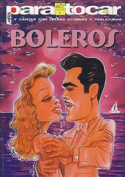 Musica Latina - Boleros (Letras y Acordes) para Guitarra: Amazon ...