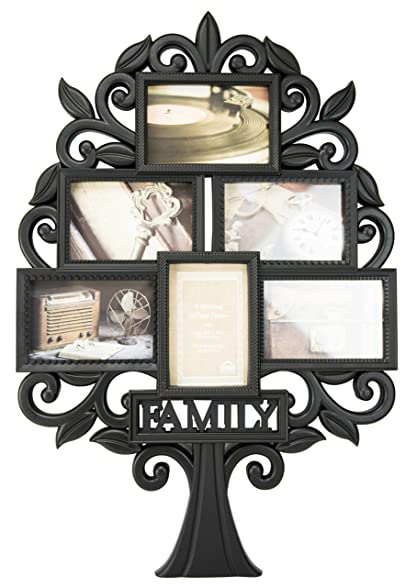Amazon.com: Family Tree Collage Wall Frame by Boston Warehouse: Home ...
