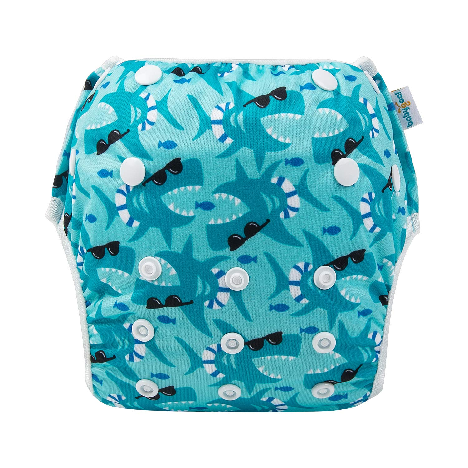 Washable and Adjustable for Babies 0-2 Years Swimming Lessons /& Baby Shower Gift babygoal Baby Reusable Swim Diaper