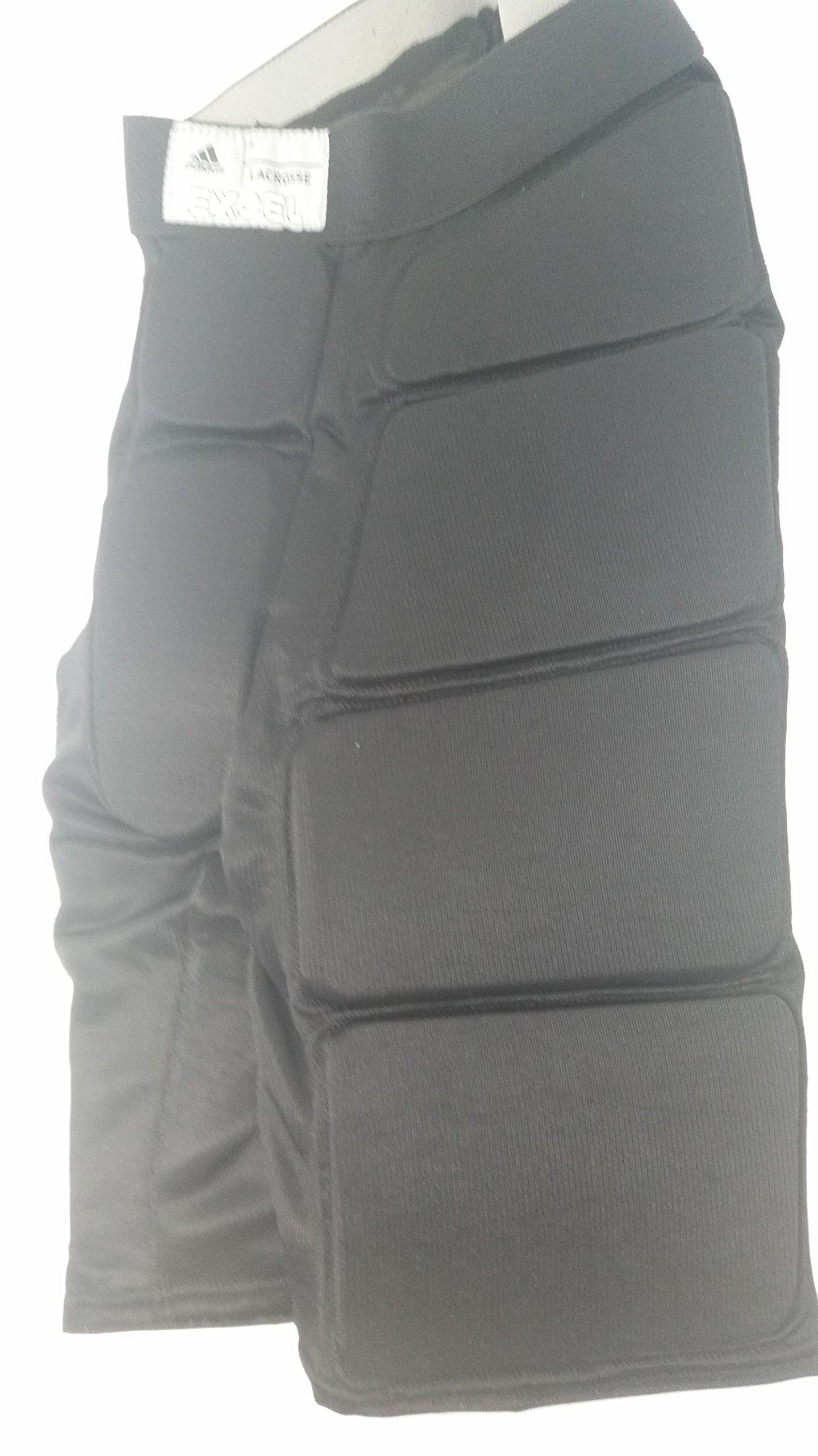 adidas New 7390107 Adult X-Large Black Goalie Protective Pants GP.209 Lacrosse