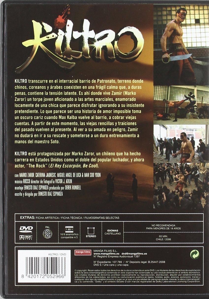 Kiltro [DVD]: Amazon.es: Marko Zaror: Cine y Series TV