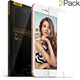 iPhone 6S Screen Protector, Tomtoc iPhone 6s | iPhone 6 Premium Tempered Glass Screen Protector Film, 3D Touch Compatible (2-Pack)