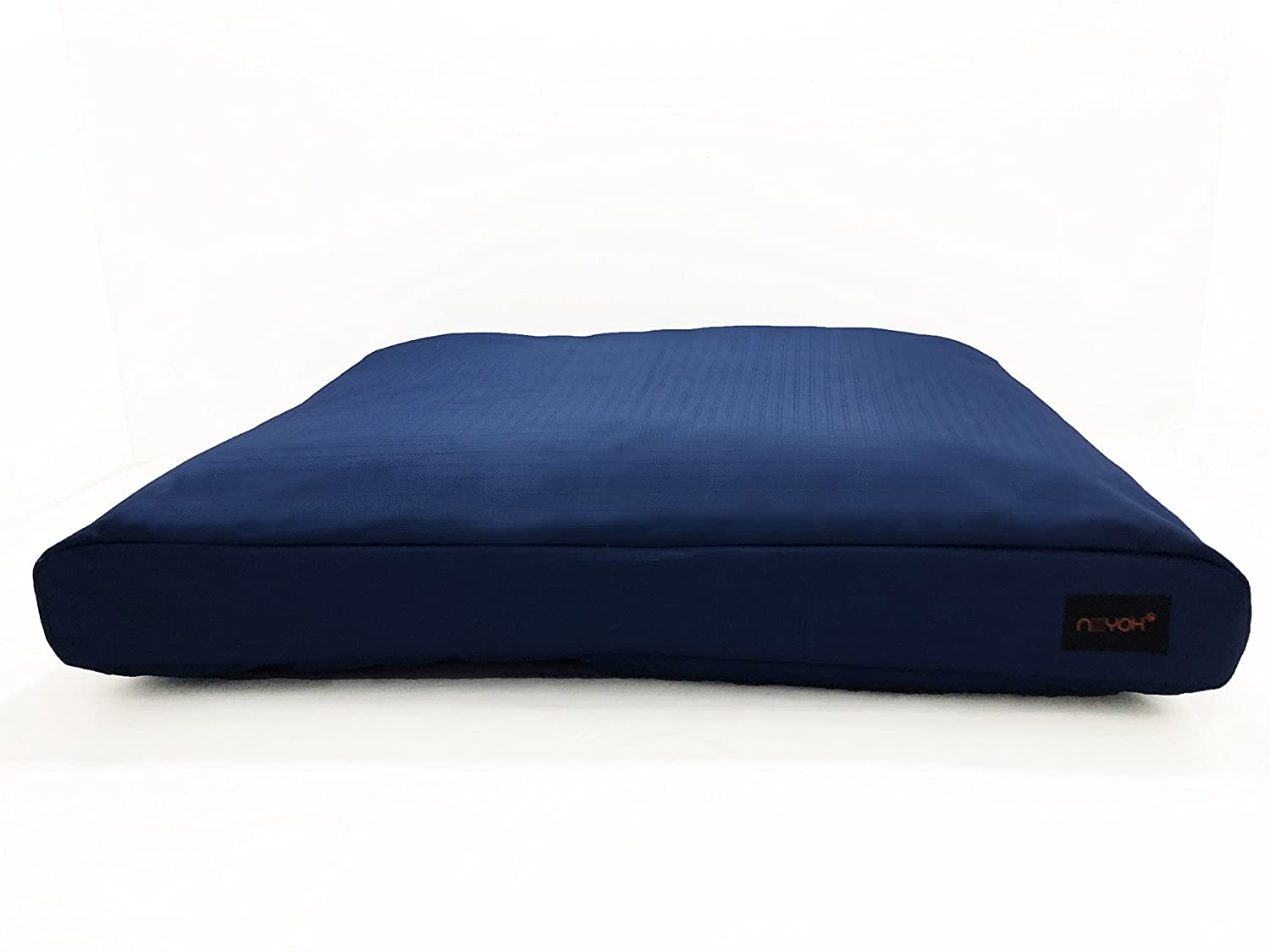bluee Large 34\ bluee Large 34\ Niiyoh Mighty Dog Bed (Orthopedic) with Super Durable 1800D Ripstop Fabric (Great for Outdoors )