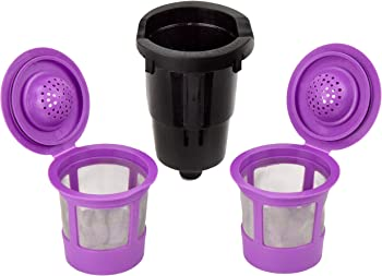Delibru Reusable K Cups for K Mini Keurig K Mini Plus with Adapter