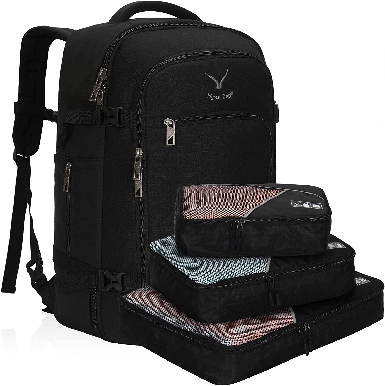 Hynes Eagle Travel Backpack 40L Flight Approved Carry on Backpack