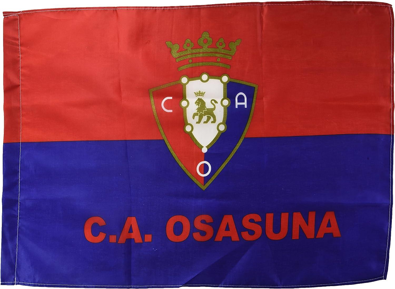 Club Atlético Osasuna Banosa Bandera, Negro/Rojo, Talla Única: Amazon.es: Deportes y aire libre
