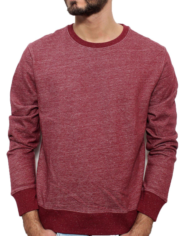 YTWOO Herren Sweatshirt aus Bio-Baumwolle- Scott nachhaltige Mode Langarm  Pullover nachhaltige Mode Fair Trade Sweatshirt stylisches Bio Sweatshirt  Kba: ...