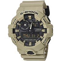 Casio De los hombres 'G Shock' resina de cuarzo reloj Casual, color: gris (modelo: ga-700uc-8acr)