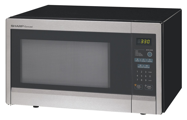 Amazon.com: Sharp r331zs Horno de microondas, SS, 1000 W ...