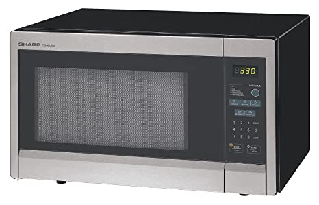 Amazon.com: Sharp r331zs Horno de microondas, SS, 1000 W ...