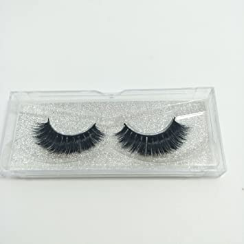 47f8d015a99 Amazon.com : 100% Handmade 3D Full Strips Mink Eyelashes Wholesale Siberian  Mink Fur Fake Eyelashes Extensions Makeup Strip Lashes One Pair Package ...