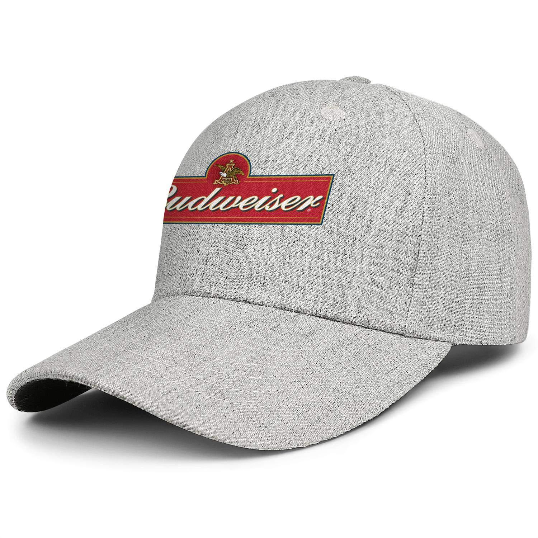 Unisex Man Cute Baseball Cap Budweiser-Logos- Outdoor Dyed All Cotton Adult Cap by sknkdhgiJ