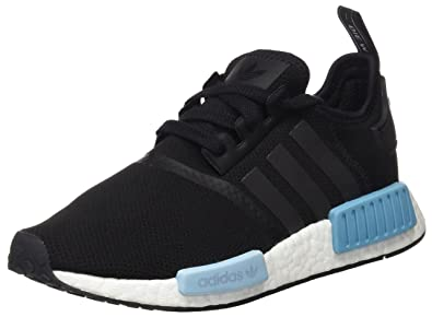 premium selection 5b3e5 aca34 adidas Originals Women s NMD R1 W Running Shoe, Black ice Blue, ...