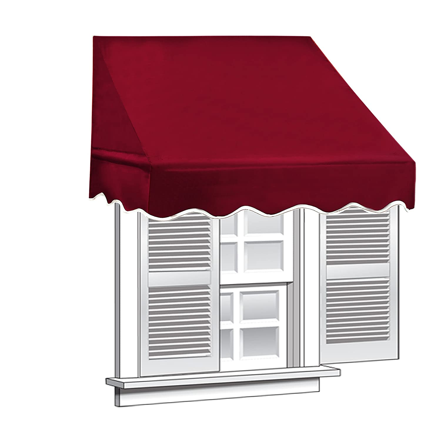 solid ip x in patio com awning aleko box a walmart awnings green retractable