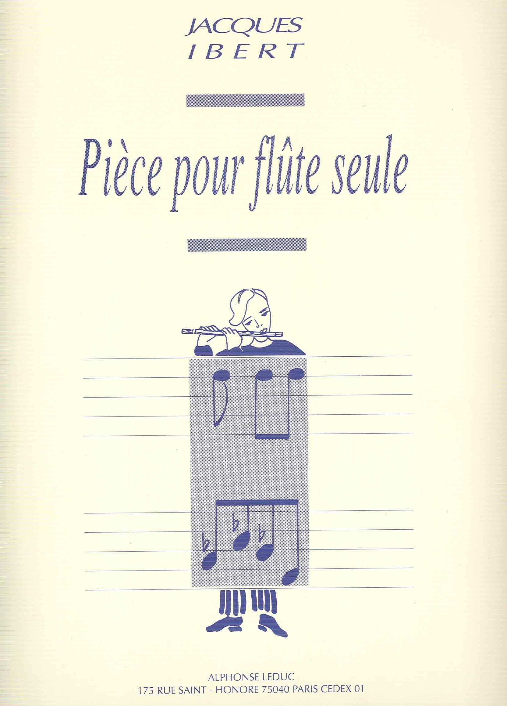 Read Online Ibert: Piece for Solo Flute PDF