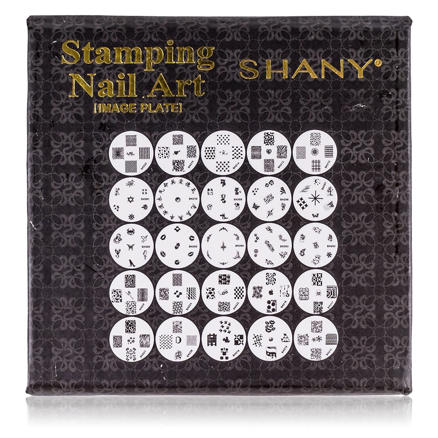 Amazon shany cosmetics new image plates set nail polish amazon shany cosmetics new image plates set nail polish image plates with storage 25 count nail decorations beauty prinsesfo Image collections
