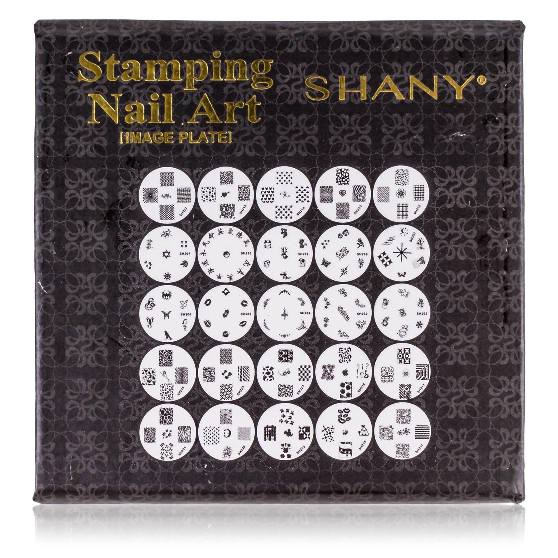 Amazon.com : SHANY 2012 Nail Art Polish Stamp Manicure Image Plates ...