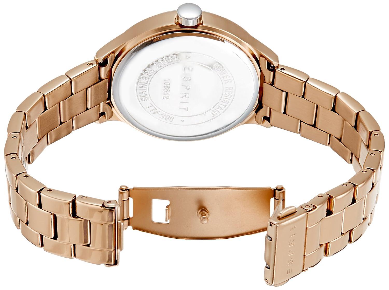 Buy Esprit Es Caroline Analog Rose Gold Dial Womens Watch Fossil Es3380 Original Boyfriend Chronograph Tone Es108552003 Online At Low Prices In India