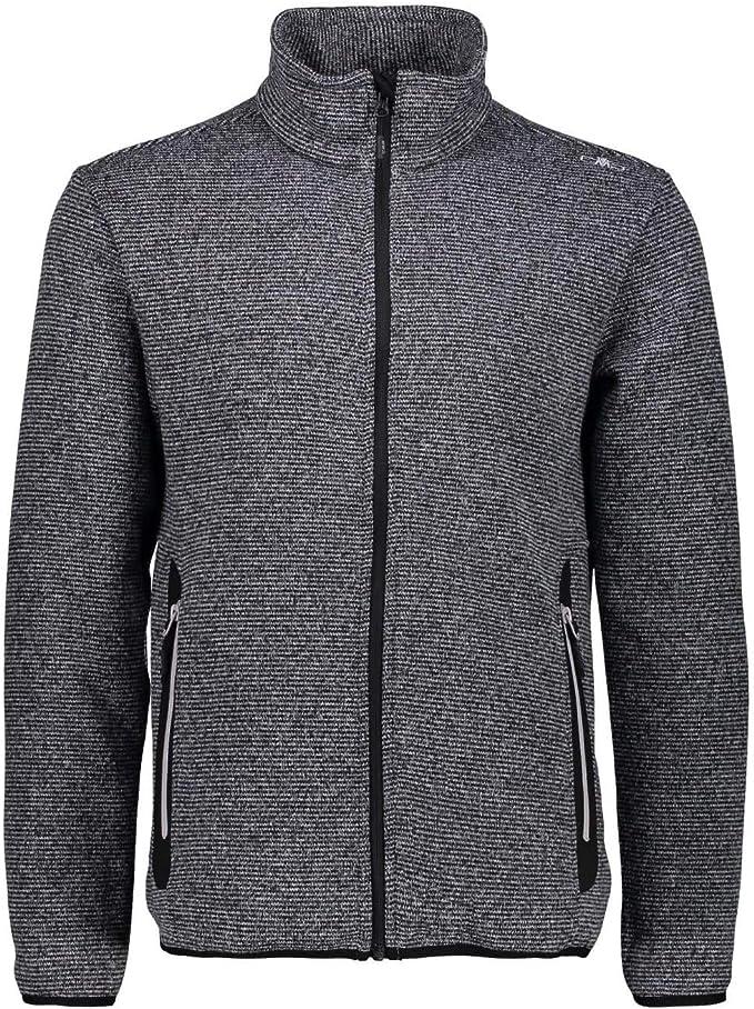 CMP Man Jacket Knitted Jacquard Fleecejacke Herren