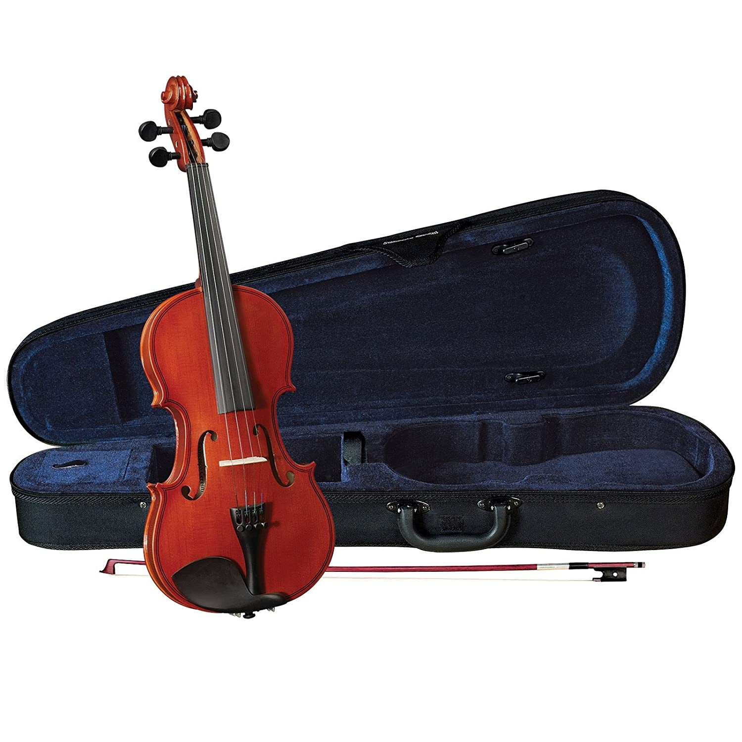 Anton Breton AB-01 Student Violin Outfit - Traditional Red - 4/4 Size A. Breton