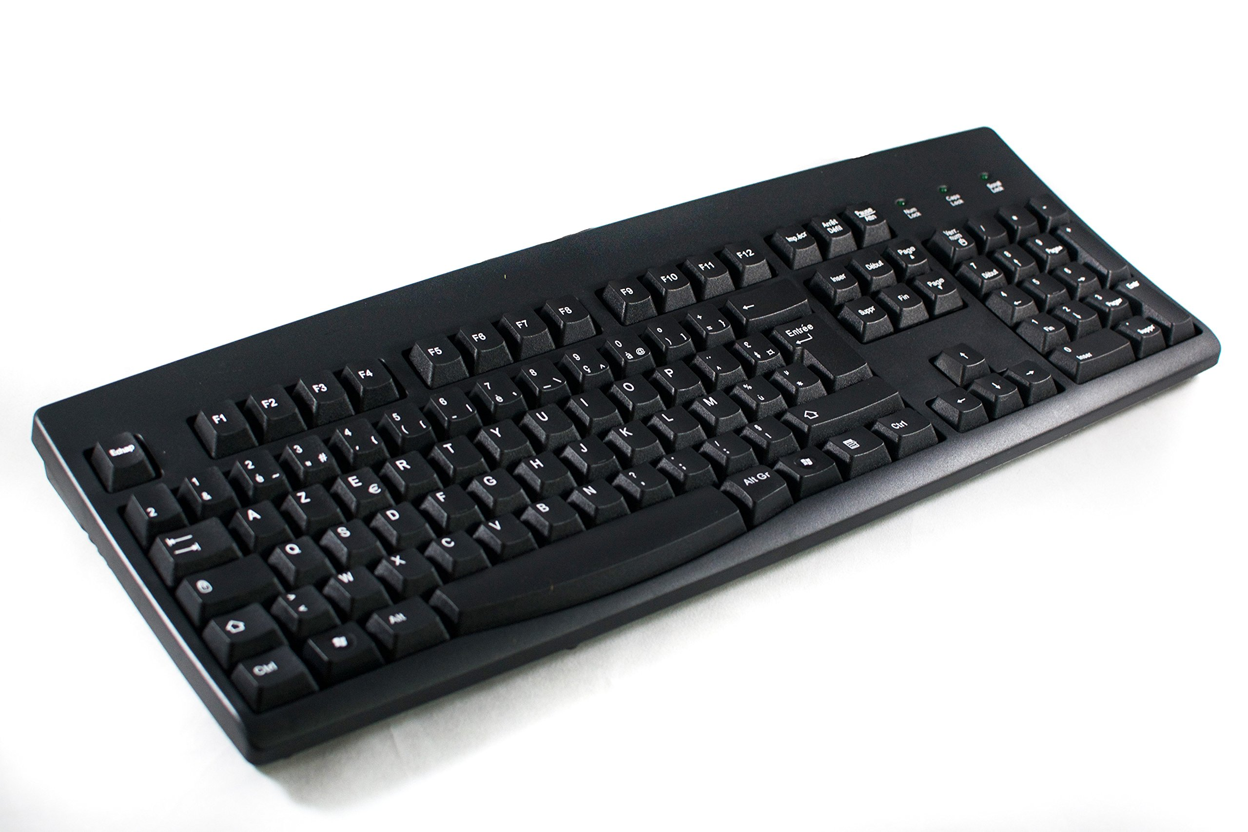 French European Language Keyboard Black Usb Windows Logitech K120 Original Computers Accessories