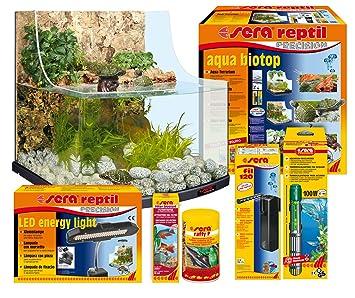 Sera 32002 Aqua Reptil terrario hábitat para pequeñas Tortugas, cangrejos y cangrejos: Amazon.es: Productos para mascotas
